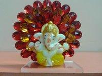 Car Showpiece of Ganesh Idol