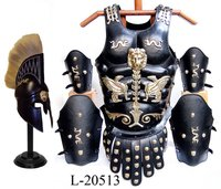 Royal Medieval Leather Muscle Armor Cuirass Set