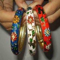 Colourful Meenakari Bangles