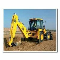 Jcb 3d Excavator Loader Unit On Hiring.