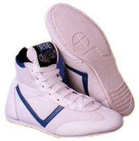 White Wrestling Shoes