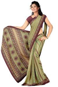 Designer Chiffon Sari