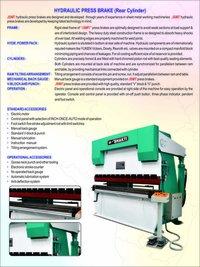 Industrial Hydraulic Press Brake