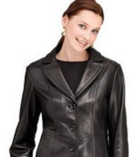 Sports Black Leather Jackets