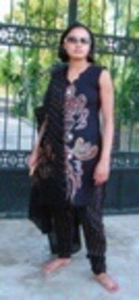 Black Designer Ladies Suit