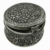 Oxidized Silver Box