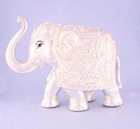 Silver Decorative Elephant Statue