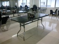 6 Seater Granite Top Dining Table (Frog Type)