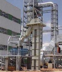Vertical Bucket Elevator Conveyor With Service Platform