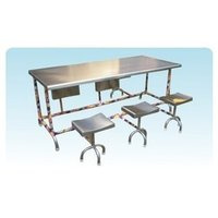Six Seater Folding Dining Table
