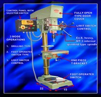 Tapping Drilling Machine