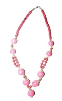 Horn And Bone Beaded Necklace