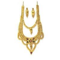 Double Design Necklace Set