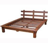 Modern Sheesham Wood Bed