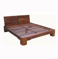 Sheesham Wood Double Bed