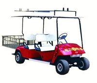 Electric Golf Cart-4 Seaters with Rear Basket (YMJ-Q604)