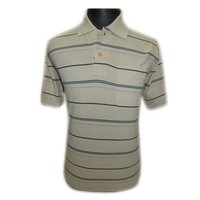 Gents Cotton Striped T-Shirts