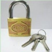 Globe Brand Padlock