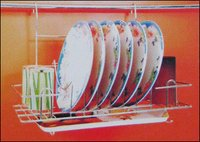 S.S. Glass Plate Holder