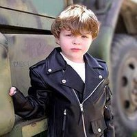 Kids Toddlers Leather Jackets