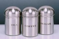 Stainless Steel Tea Canisters