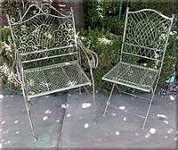 Wrought Iron Outdoor Chair