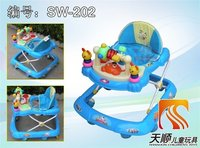 Cute Dog Style Baby Walker With Music
