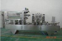 Automatic Paste Jam Plastic Cup Filling Sealing Machine
