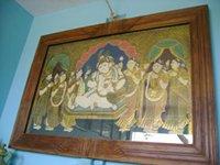 Krishna Glass Paintings