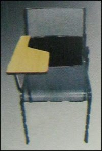 Single Seater Half Desk Chair