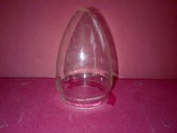 Led Bulb Glass Shell - Candle 40mm Clear