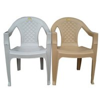 High Back Plastic Arm Chairs