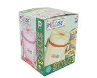 Stylo Plastic Lunch Boxes