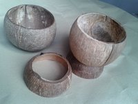 Coconut Shell Cups And Bowls