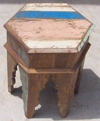 Recycle End Table