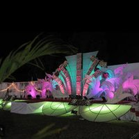 Crystal Wedding Stages