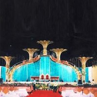 Decorative Wedding Stages
