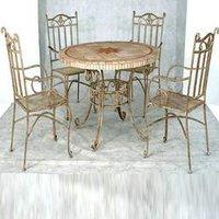 Dining Room Steel Table Set