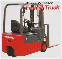 Three Wheeler Forklift Truck