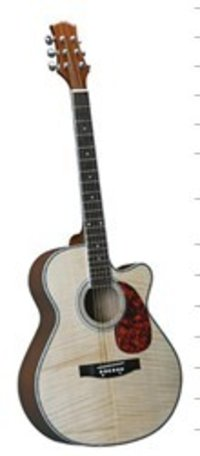 Solid Maple Acoustic Guitar 40