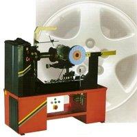 Rim Straightening And Polishing Machine