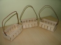 Veneer Woven Baskets