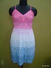 Tie Dye Short Dresses