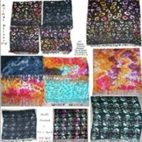 Rayon Viscose Mix Printed Shawls