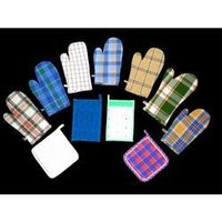 Cotton Gloves And Pot Holders