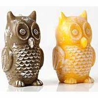 Owl Design Candles