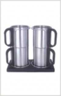 4 Pcs Coffee Mug Set
