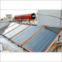 Fpc Type Solar Water Heater System