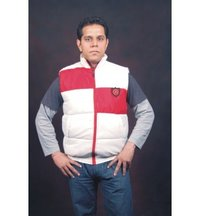 Half Sleeve Men Jacket