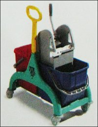 Wash Trolley With Plastic Handles (50 Litre)